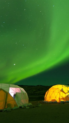 Greenland- Wilderness and Northern Lights