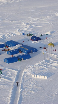 Helicopter Expedition to the North Pole