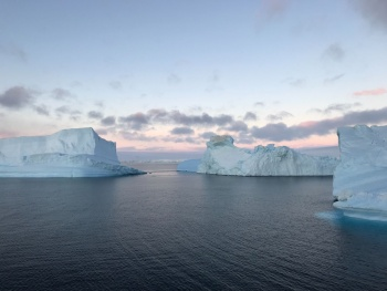 Calm Antarctic waters