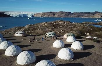 Qaleraliq Adventure Glacier Camp